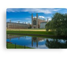King's College Chapel, Cambridge Canvas Print