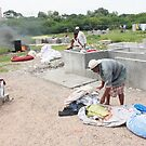 Washing Place Hyderabad by Andrew  Makowiecki