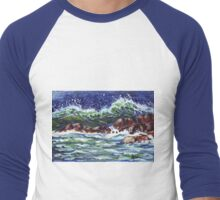 The Voice of the Sea Men's Baseball ¾ T-Shirt