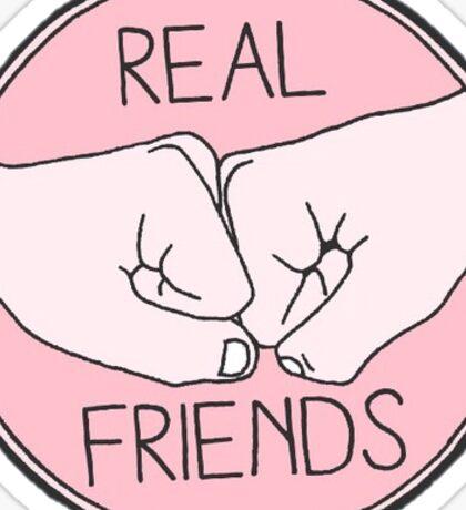 real friends Sticker