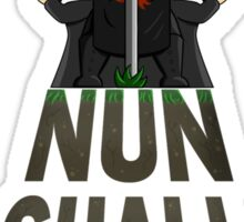Nun Shall Pass Sticker