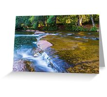 Old Fashioned Streaming Greeting Card