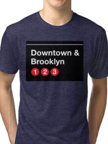 Downtown & Brooklyn Tri-blend T-Shirt