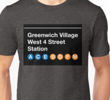 Greenwich Village Station Unisex T-Shirt