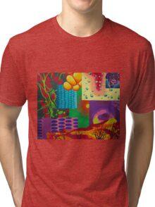 Blue Corn  Tri-blend T-Shirt