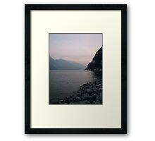Rive del Garda Framed Print
