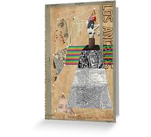 to live and die in l.a., dude Greeting Card
