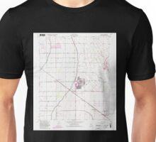 USGS TOPO Map Arizona AZ Higley 311754 1956 24000 Unisex T-Shirt