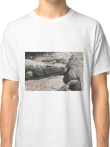 crocodile at the zoo Classic T-Shirt