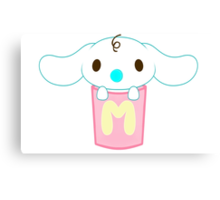 Sanrio Cinnamoroll Milk Canvas Print