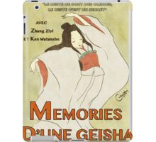 Memories of a Geisha Vintage  iPad Case/Skin