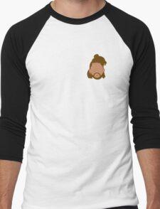 The Weeknd Outline Men's Baseball ¾ T-Shirt