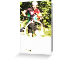 The Running Cycle  Greeting Card
