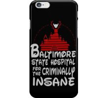 baltimore state hospital for the criminally insane - disney - hannibal iPhone Case/Skin
