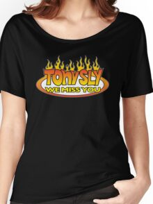 We Miss Tony Sly Women's Relaxed Fit T-Shirt