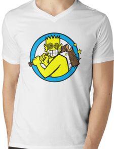 Allroy Mens V-Neck T-Shirt