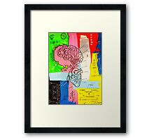 Good Head & Good Heart Framed Print