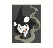 Shark Bully Art Print