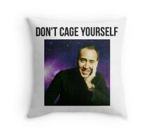Nicolas Cage Immortality Throw Pillow