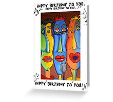 Happy Birthday Card by Talking Heads Greeting Card