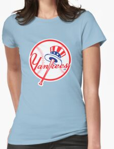 NY Yankees Womens Fitted T-Shirt
