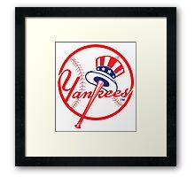 NY Yankees Framed Print