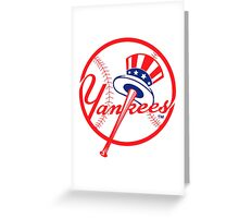 NY Yankees Greeting Card
