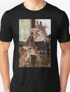 giraffe at the zoo Unisex T-Shirt
