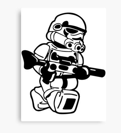 LEGO ARMY Canvas Print