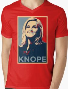 Knope Mens V-Neck T-Shirt