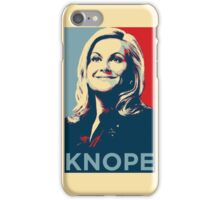 Knope iPhone Case/Skin