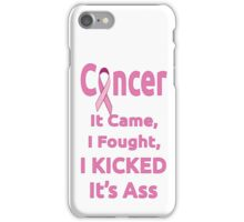 Breast Cancer Survivor iPhone Case/Skin