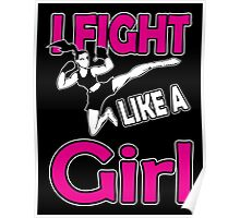 Martial arts: I fight like a girl Poster