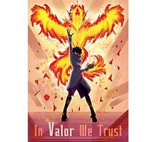 Pokemon Go - In Valor We Trust Photographic Print