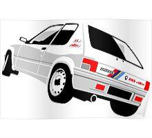 Peugeot 205 Rallye Poster