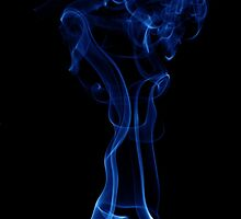 Smooth Smoke on Black by Dan Dexter