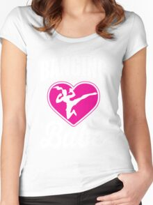 Martial Arts: Banging Babe Women's Fitted Scoop T-Shirt