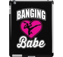 Martial Arts: Banging Babe iPad Case/Skin