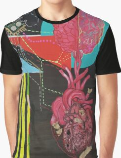 Right & Left Brain Graphic T-Shirt