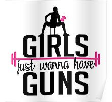 Fitness: Girls just wanna have guns Poster