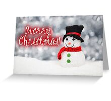 Merry Xmas 010 - RED Greeting Card