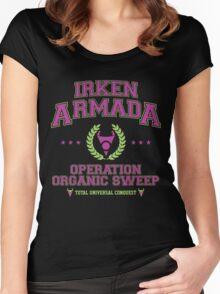 Irken Armada: Color Option Women's Fitted Scoop T-Shirt