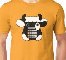 Cowculator Math Cow Pun. Geek Humor Tee Shirt Unisex T-Shirt