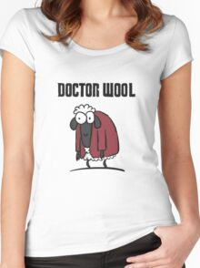Doctor Wool Women's Fitted Scoop T-Shirt