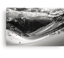 Long live the pioneers Canvas Print