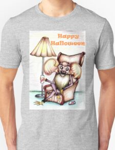 Bat Relaxing- Halloween  Unisex T-Shirt