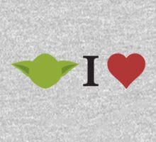 Yoda I Love Kids Clothes