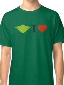Yoda I Love Classic T-Shirt