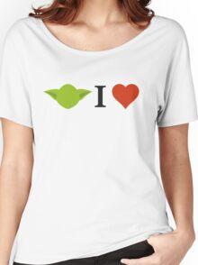Yoda I Love Women's Relaxed Fit T-Shirt