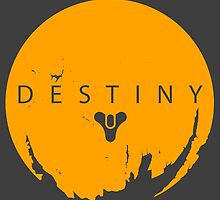 Destiny - Yellow Logo by AronGilli by AronGilli